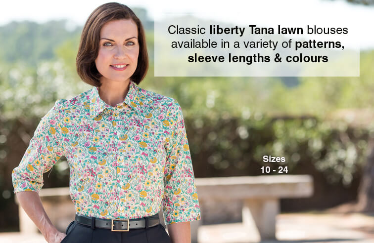 Ladies Liberty Print Blouses