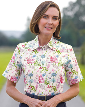 Ladies Patterned Blouses