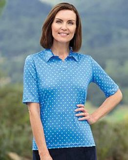 Amy Multi Coloured Pure Cotton Polo
