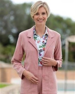 Polly Coral Pink Jacket