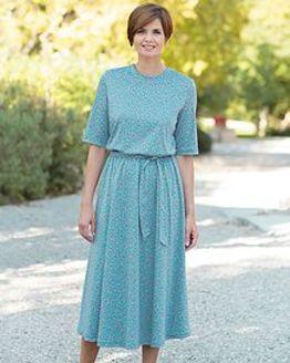 Lauren Multi Coloured Pure Silky Cotton Dress