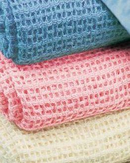 Acrylic Cellular Blankets