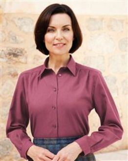 Soft Handle Blouse in Claret