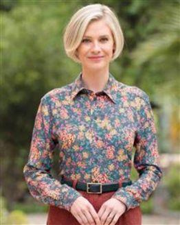 Martha Floral Supersoft Viscose Blouse