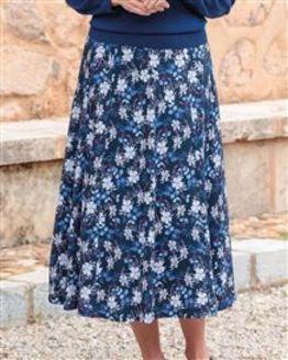 Samantha Floral Pure Cotton Skirt