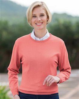Merino Crew Neck Sweater  Ladies