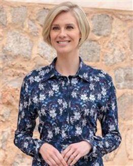 Samantha Floral Pure Cotton Blouse