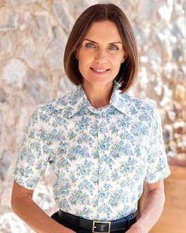 Jennifer Floral Pure Cotton Blouse
