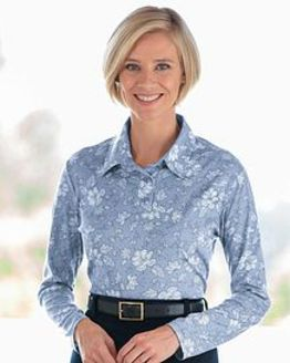 Helen Multi Coloured Pure Cotton Polo