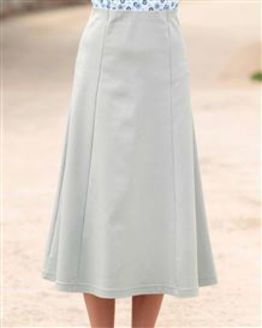 Easycare Grey Pull On Skirt