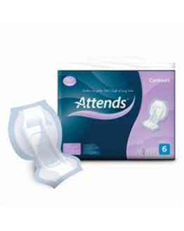 Incontinence Contour Shaped Pad