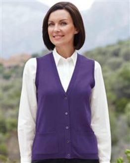 Merino Violet Waistcoat