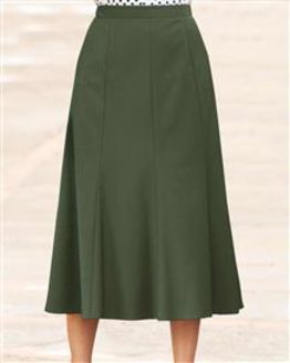 Sandown Green Skirt