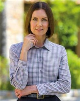 Hope Checked Pure Cotton Blouse