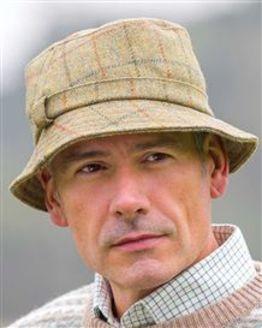 Men's Teflon Coated Wool Tweed Hat