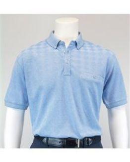 Diamond Design Cotton Polo Shirt