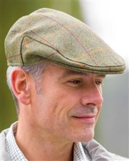 Men's Tweed Wool Flat Cap