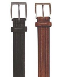 Raised Leather Belt