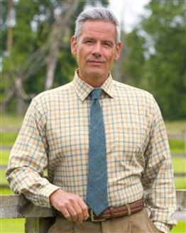 Epsom Tattersall Check Cotton & Wool Shirt
