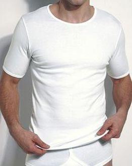 Cotton Round Neck Vest  Mens