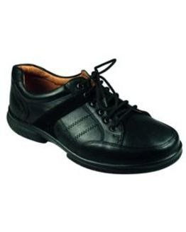 DB Wider Fit Black Lace-up shoe