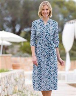 Nanette Floral Pure Cotton Dress