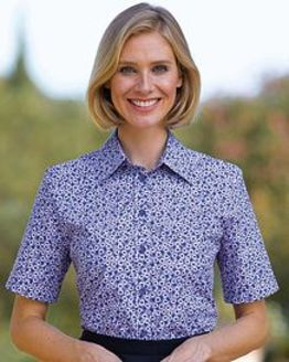 Mary Floral Pure Cotton Blouse