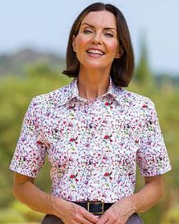 Dakota Floral Pure Cotton Blouse