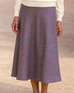 Algarve Pure Shetland Wool Skirt
