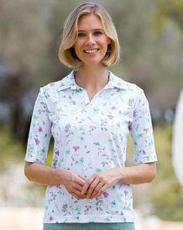 Katie Multi Coloured Pure Cotton Polo