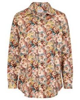 Beatrice Cotton Mix Floral Blouse