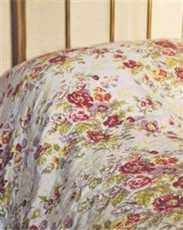 English Floral Bedspread