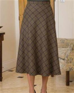 Foxham Wool Mix Skirt