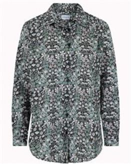Tiffany Floral Pure Cotton Blouse
