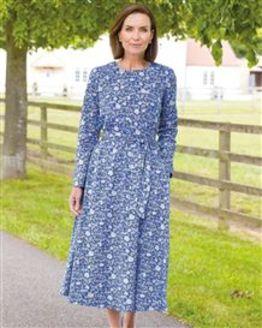 Quinn Pure Cotton Floral Dress