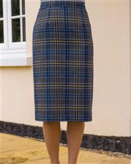 Overton Wool Mix Straight Skirt