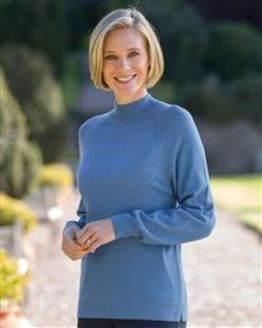 Merino Turtle Neck Tunic