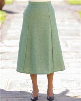 Valencia Pure Shetland Wool Skirt