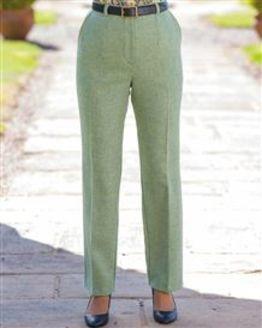 Valencia Pure Shetland Wool Trousers