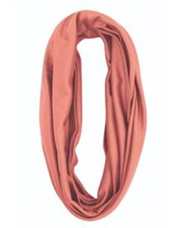 Silky Cotton Snood Scarf