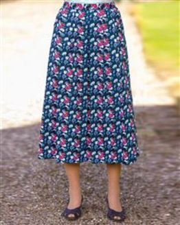 Arabella Patterned Pure Cotton Skirt