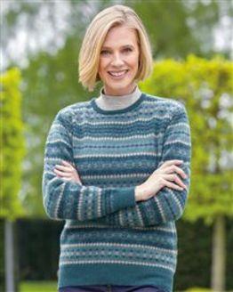 Fiona Fairisle Sweater