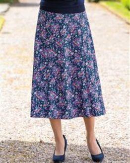 Gabriella Floral Pure Cotton Skirt