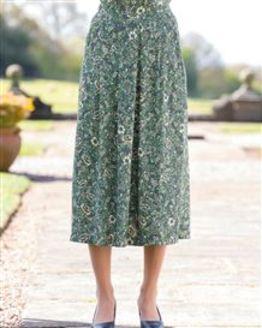 Clarissa Floral Supersoft Viscose Skirt