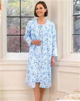 Slenderella Rosemarie Button Through Nightdress