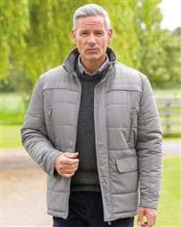 Whinlatter Grey Quilted Jacket