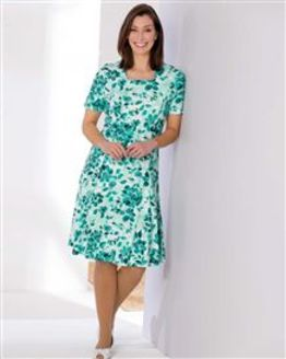 TIGI Atlantis Floral Print Dress