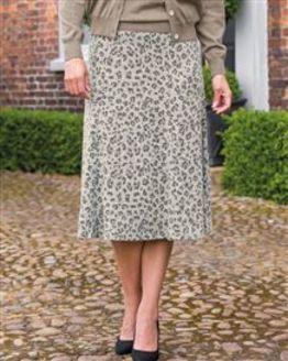 TIGI Leopard Print Skirt