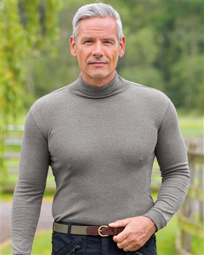 Pure Cotton Polo Neck