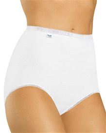 Sloggi Maxi Brief Available in White/Skintone